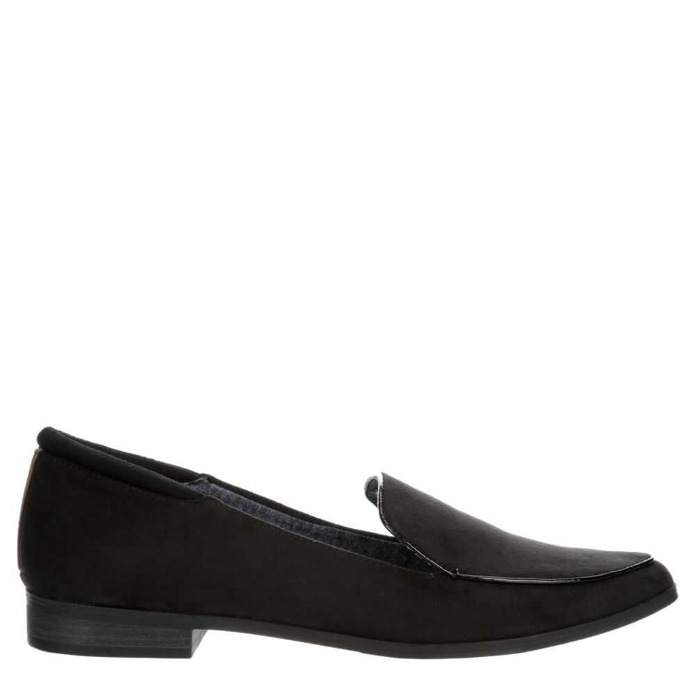 Dr. Scholl's Womens Lark Loafers Black USA - GOOFASH - Womens FLAT SHOES