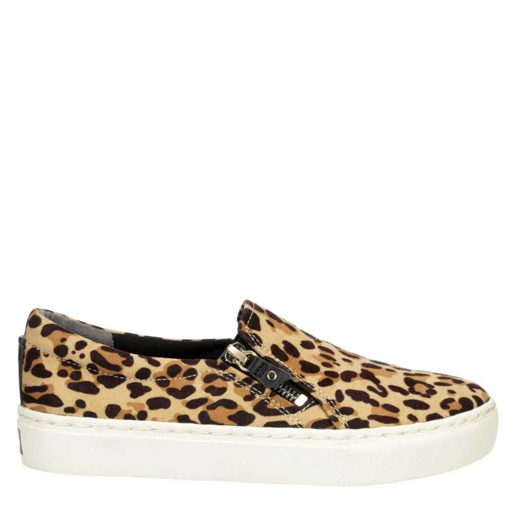 Dr. Scholl's Womens No Chill Shoes Sneakers Leopard USA - GOOFASH - Womens SNEAKER