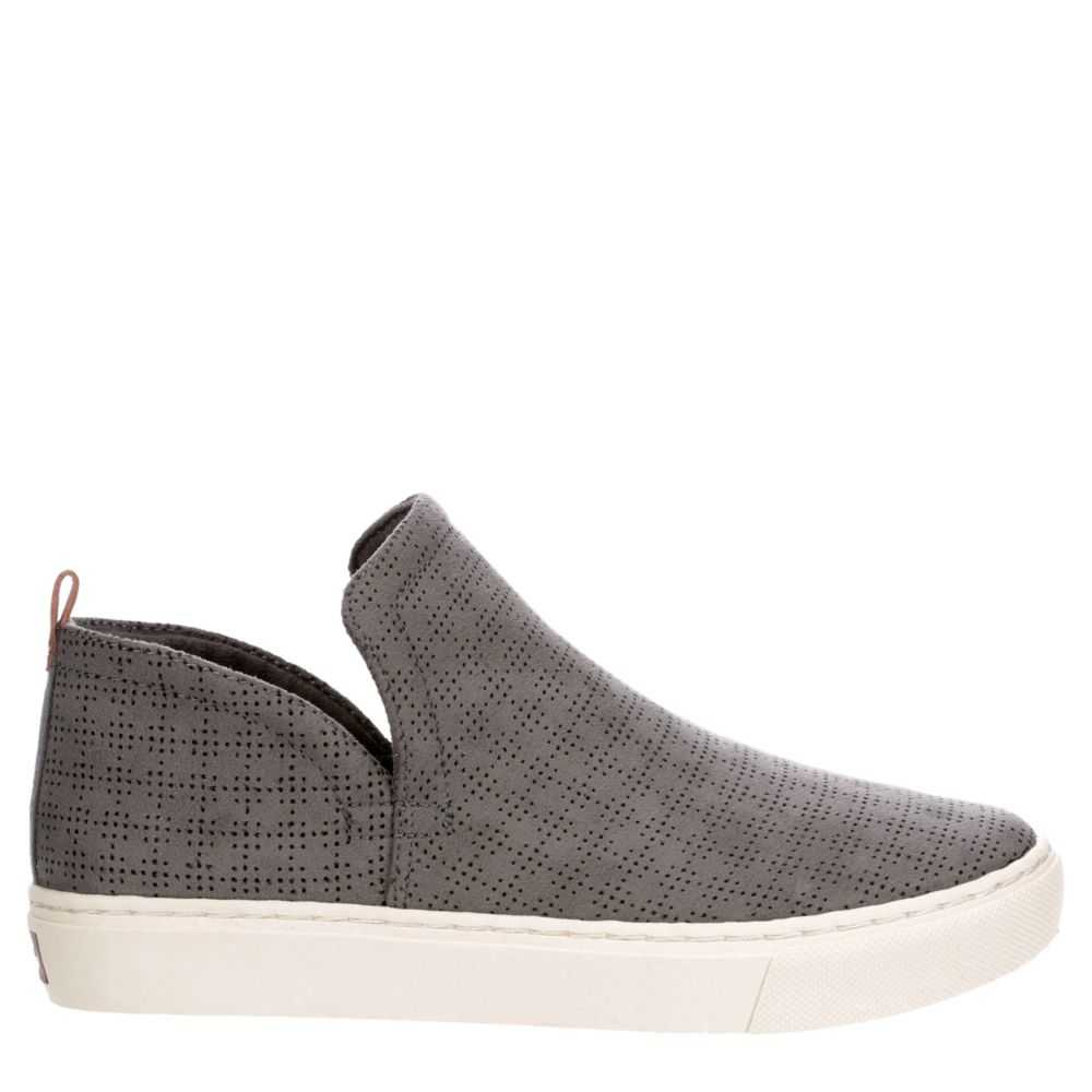 Dr. Scholl's Womens No Worries Shoes Sneakers Grey USA - GOOFASH - Womens SNEAKER