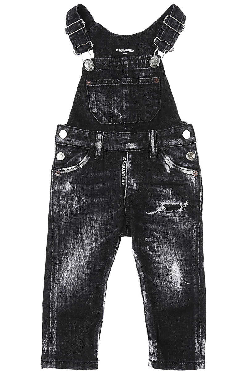 Dsquared2 Baby Jeans for Boys Blac USA - GOOFASH