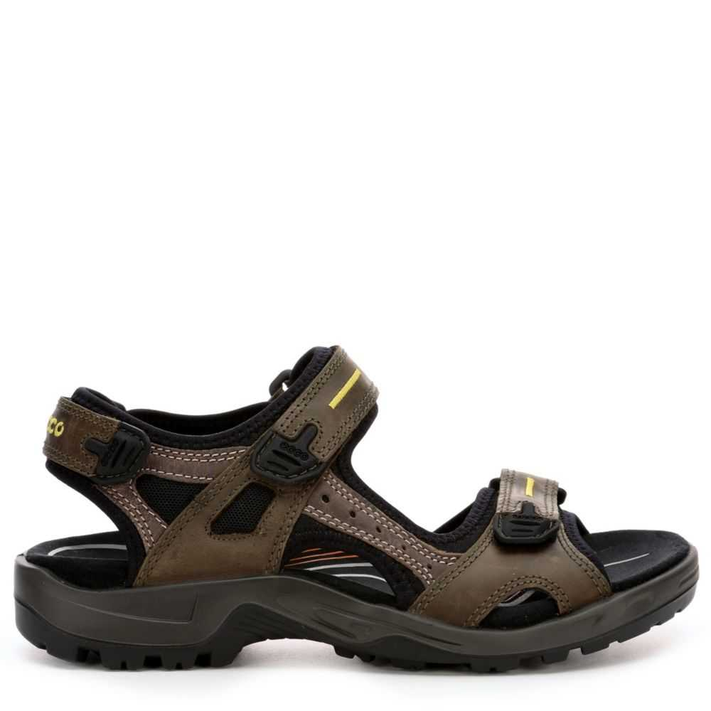 Ecco Mens Yucatan Outdoor Sandal Taupe USA - GOOFASH - Mens SANDALS