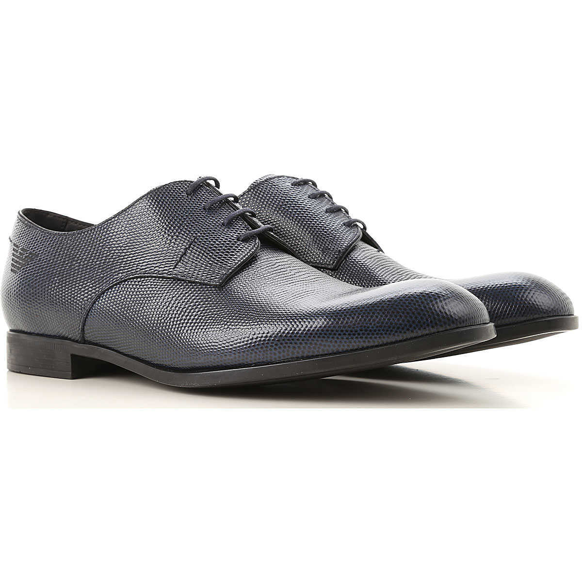 Emporio Armani Lace Up Shoes for Men Oxfords 10 11 9 Derbies and Brogues On Sale UK - GOOFASH