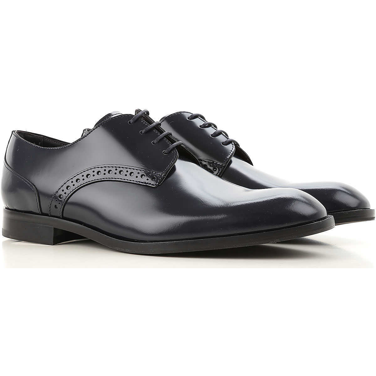 Emporio Armani Lace Up Shoes for Men Oxfords 11 6 7 8 Derbies and Brogues On Sale in Outlet UK - GOOFASH