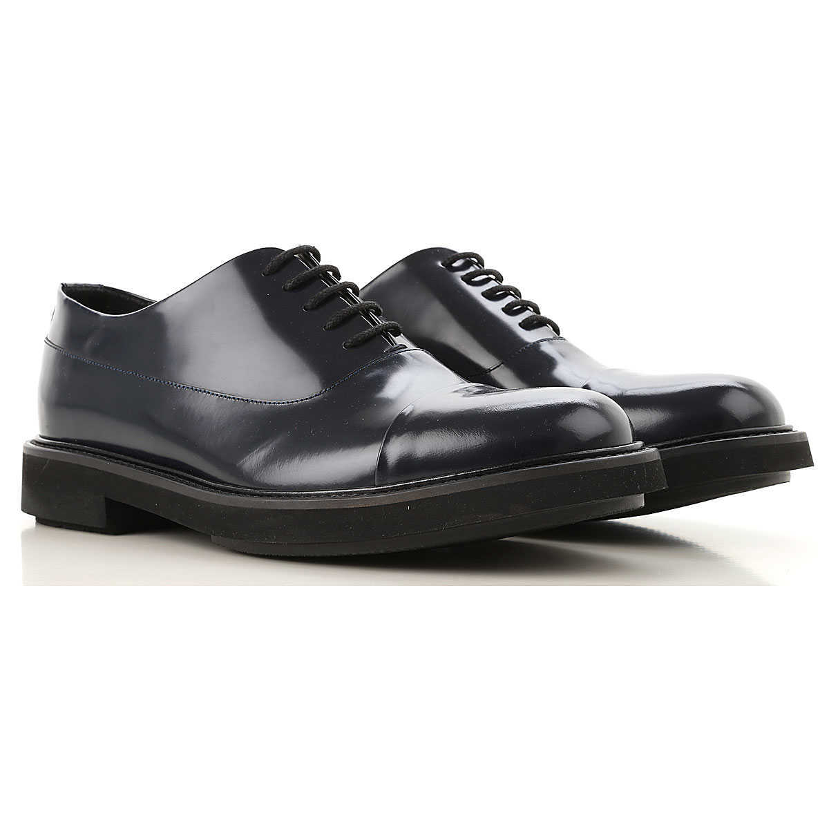 Emporio Armani Lace Up Shoes for Men Oxfords 7 8.5 9 Derbies and Brogues On Sale UK - GOOFASH