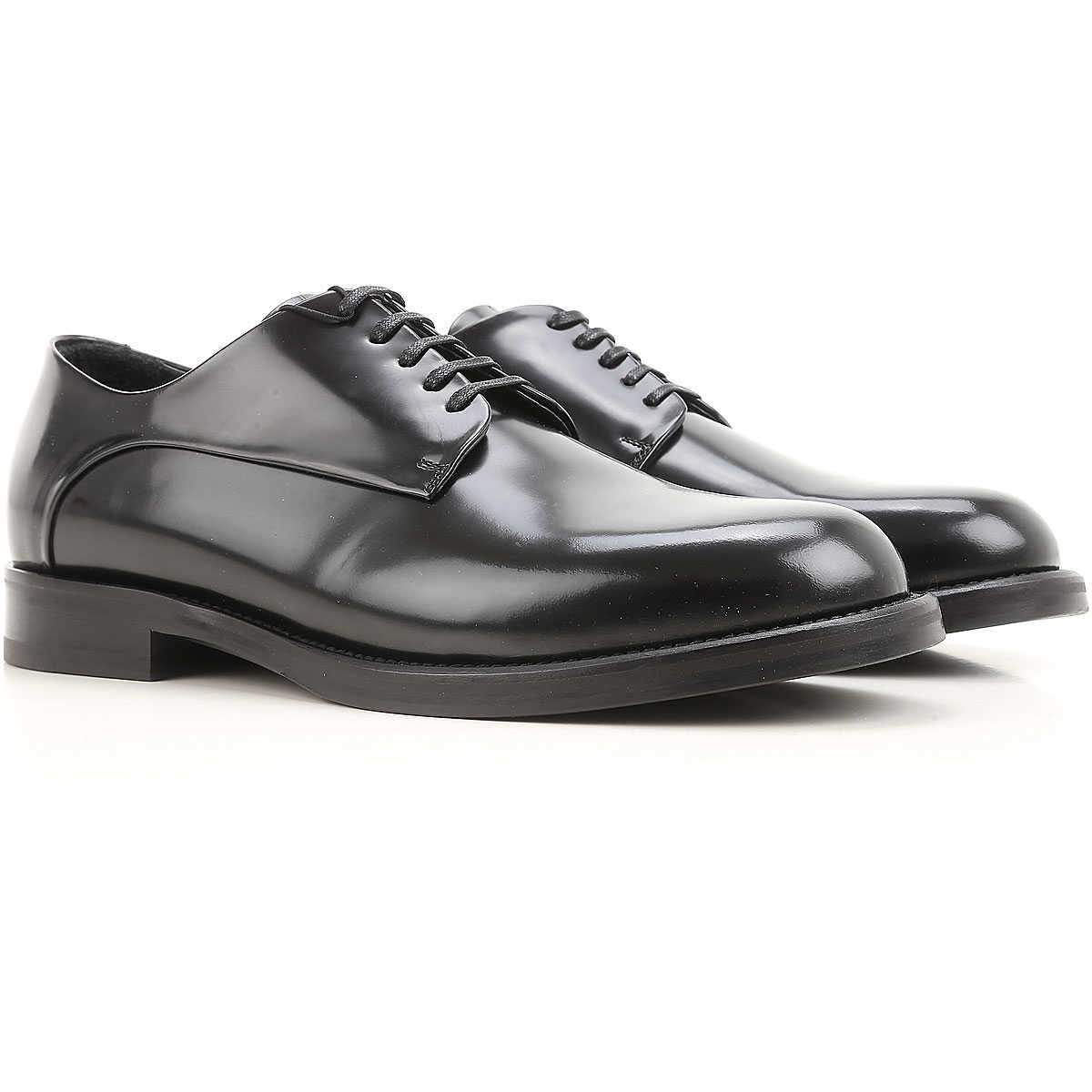 Emporio Armani Lace Up Shoes for Men Oxfords 8 9.5 Derbies and Brogues On Sale in Outlet UK - GOOFASH