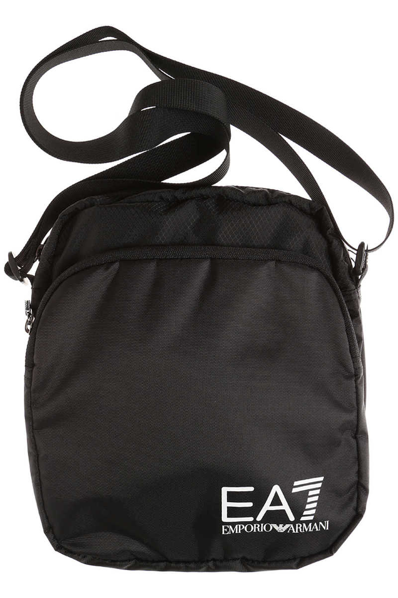 Emporio Armani Messenger Bag for Men On Sale in Outlet Train Prime Pouch - GOOFASH