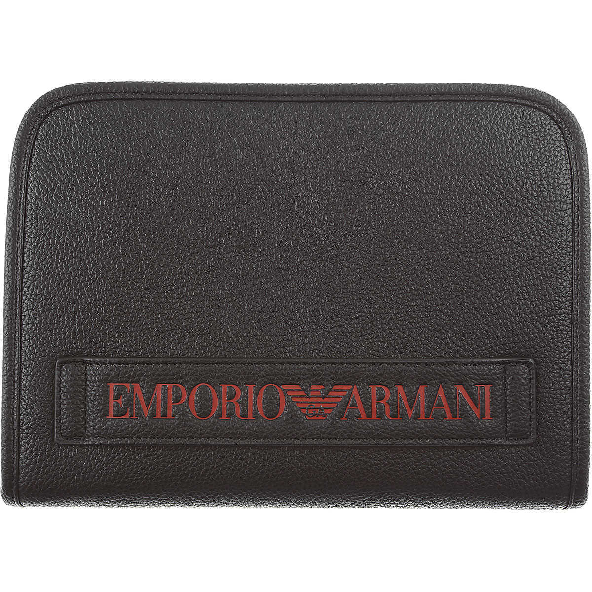 Emporio Armani Wallet for Men On Sale Black - GOOFASH