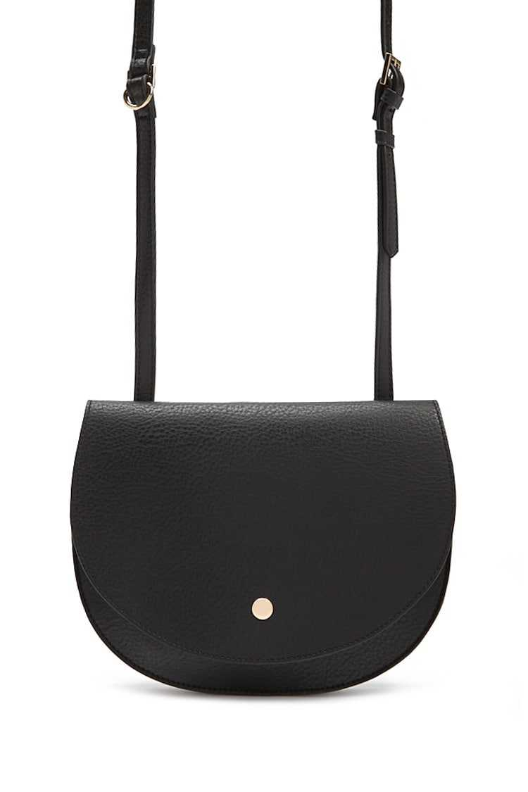 Forever21Faux Leather Crossbody & Coin Purse - Black UK - GOOFASH