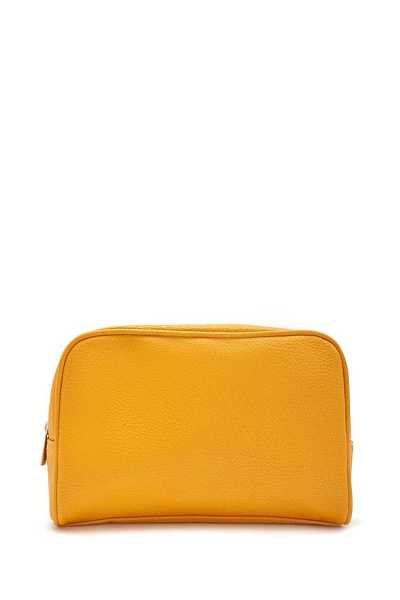 Forever21Faux Leather Travel Bag - Mustard UK - GOOFASH