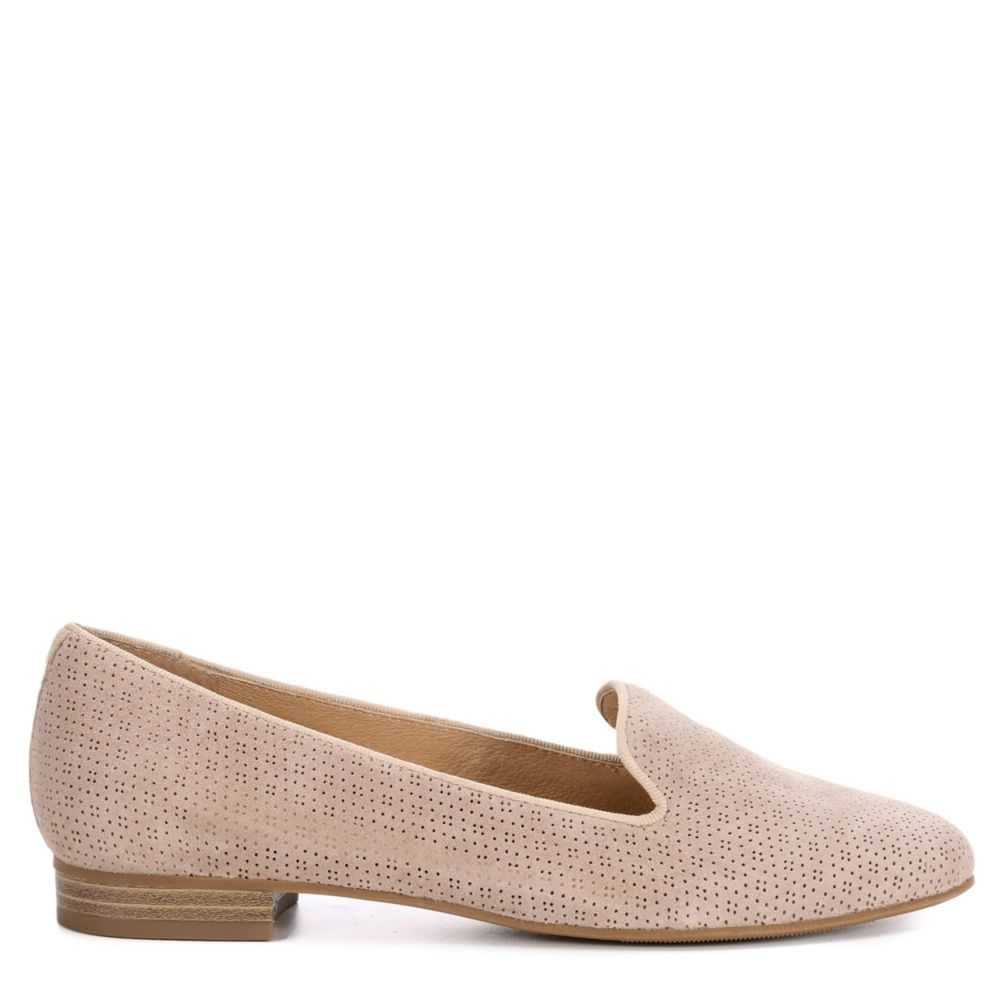 Franco Fortini Womens Abigail Flats Shoes Taupe USA - GOOFASH - Womens FLAT SHOES