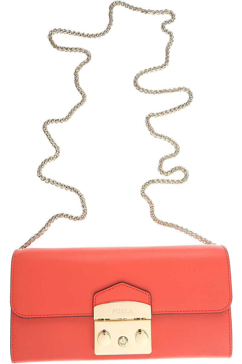 Furla Wallet for Women On Sale Coral - GOOFASH