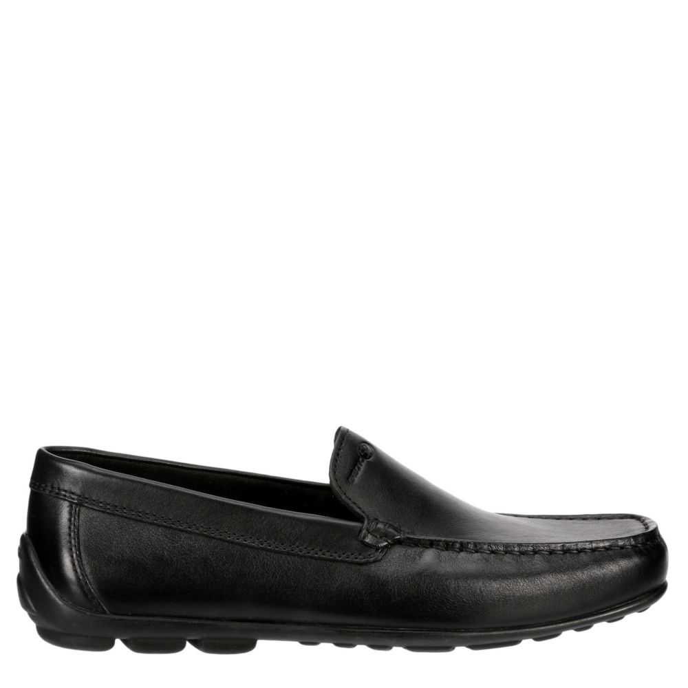 Geox Mens Uomo Fast Loafers Black USA - GOOFASH - Mens LOAFERS