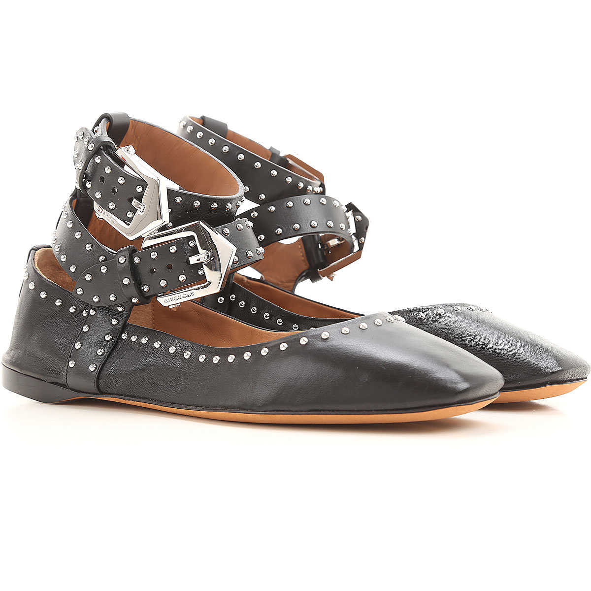 Givenchy Ballet Flats Ballerina Shoes for Women On Sale in Outlet Black UK - GOOFASH