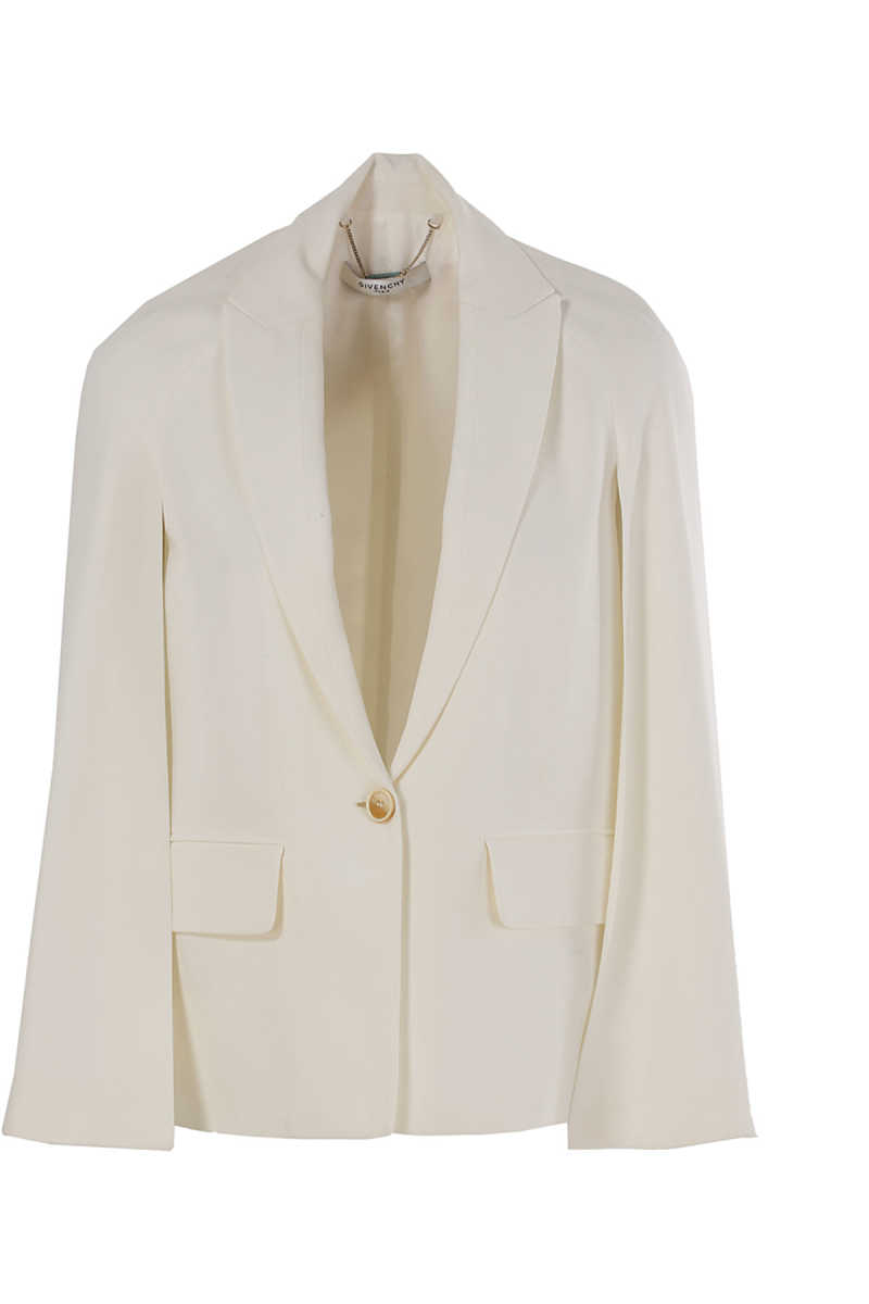 Givenchy Blazer for Women On Sale in Outlet Milk - GOOFASH
