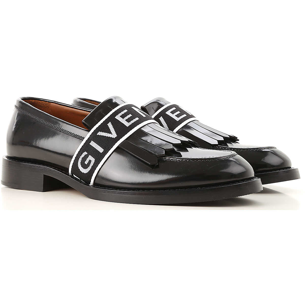 Givenchy Loafers for Men On Sale Black - GOOFASH