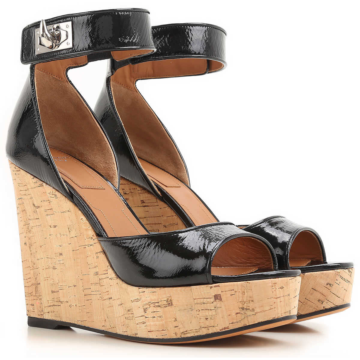 Givenchy Wedges for Women On Sale in Outlet Black - GOOFASH