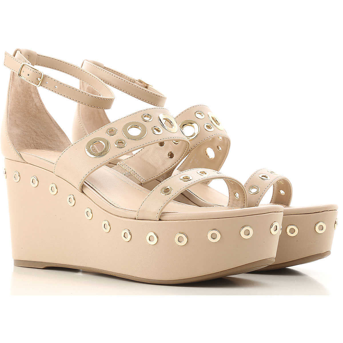 Guess Sandals for Women On Sale in Outlet Camel - GOOFASH