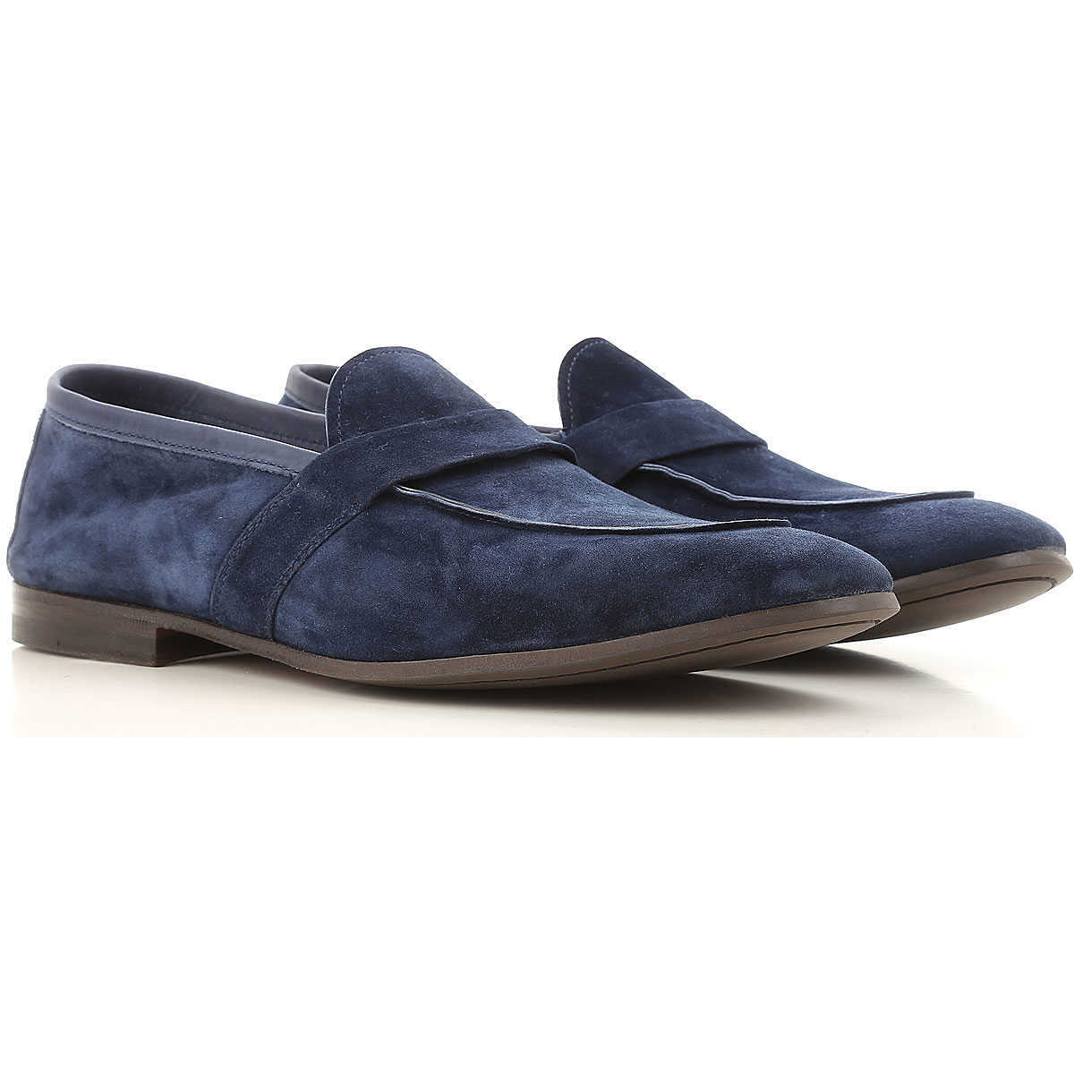 Henderson Loafers for Men On Sale Deep Night - GOOFASH