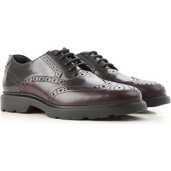 Hogan Lace Up Shoes for Men Oxfords Derbies and Brogues On Sale - GOOFASH