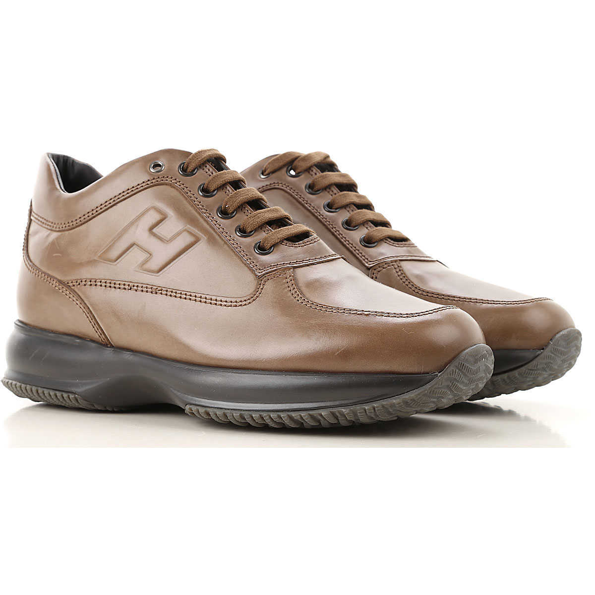 Hogan Sneakers for Men On Sale Tobacco - GOOFASH