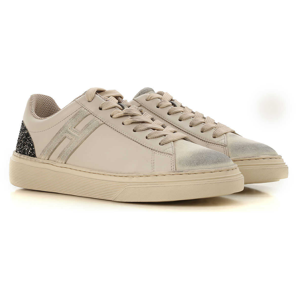 Hogan Sneakers for Women On Sale in Outlet Dirty White - GOOFASH