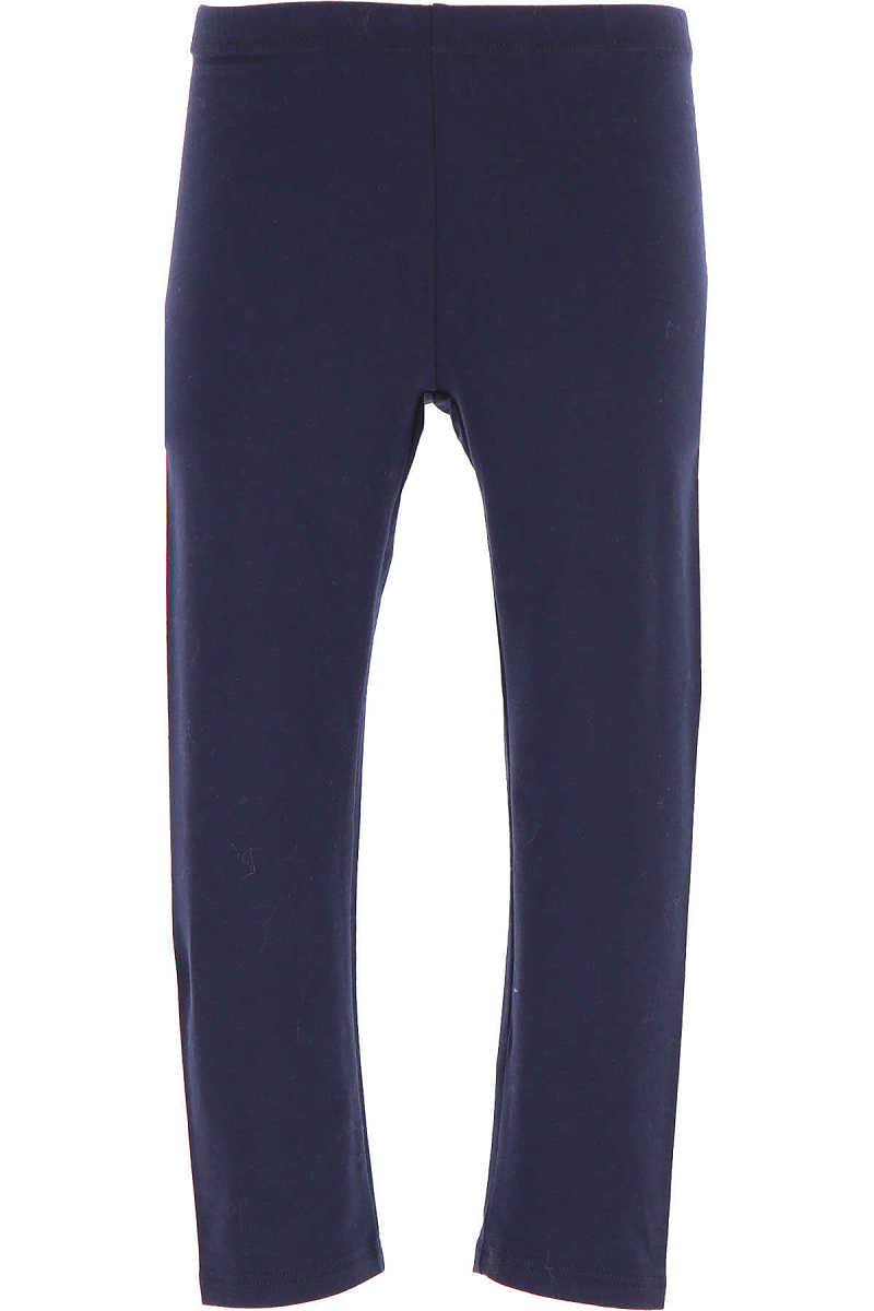 Il Gufo Kids Pants for Girls in Outlet Blue USA - GOOFASH