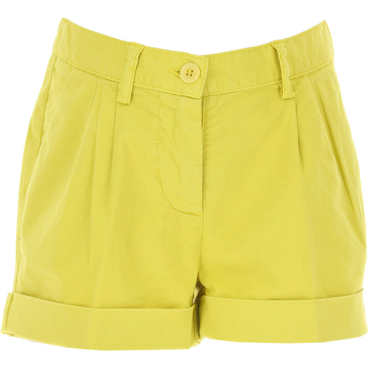 Il Gufo Kids Shorts for Girls On Sale Lime SE - GOOFASH