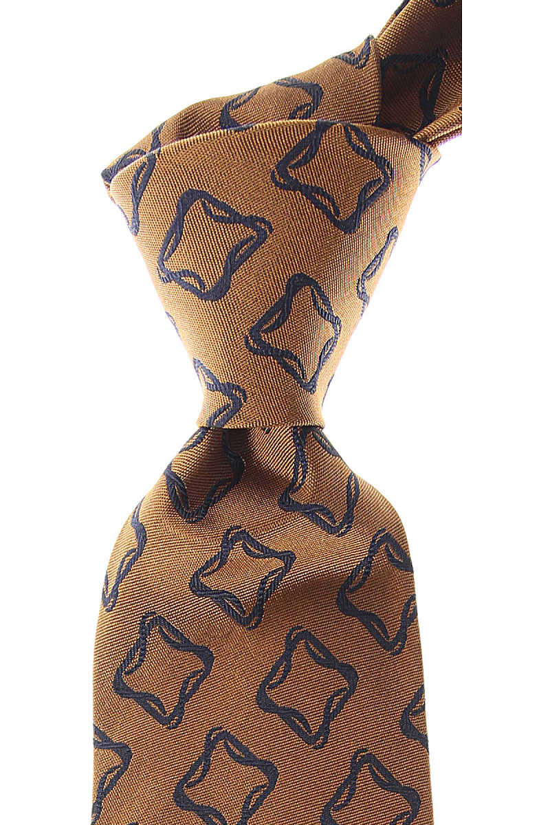 Isaia Ties On Sale Dark Bronze UK - GOOFASH