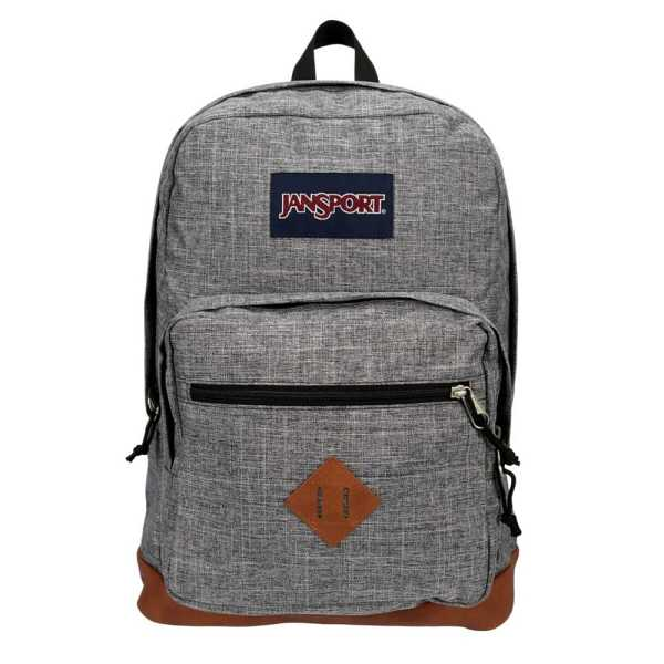 Jansport Womens City View Backpack Grey USA - GOOFASH - Womens WALLETS