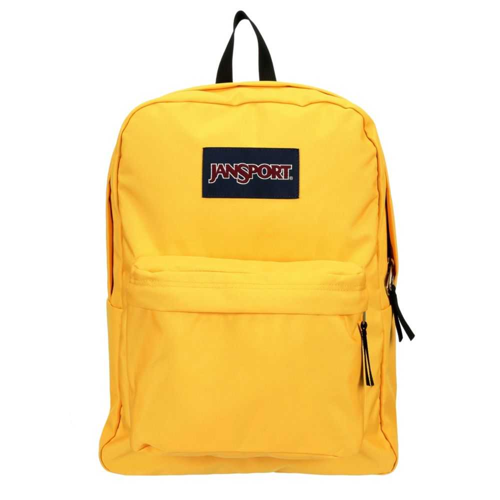 Jansport Womens Superbreak Backpack Yellow USA - GOOFASH - Womens WALLETS