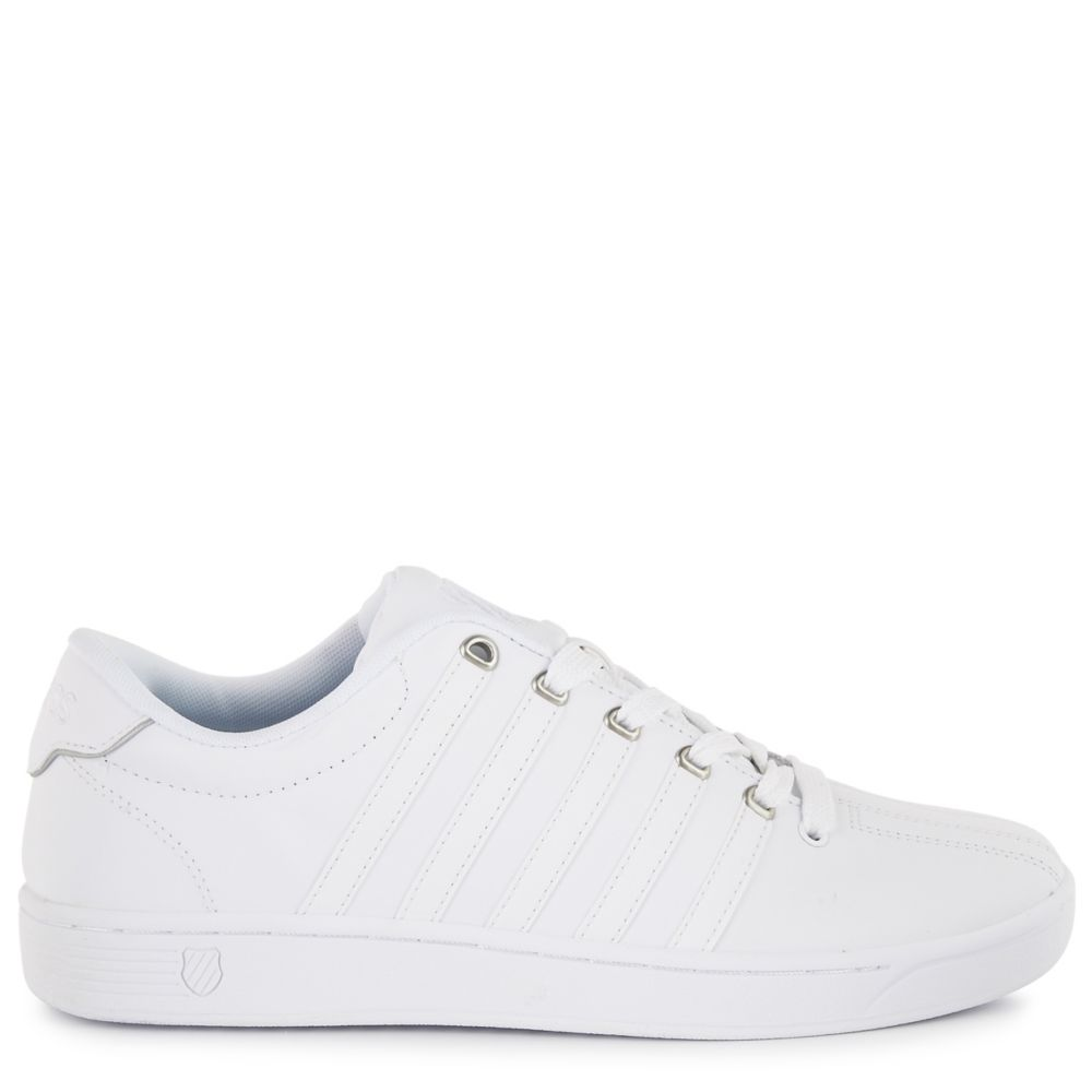 K-Swiss Mens Court Pro 2 Shoes Sneakers White USA - GOOFASH - Mens SNEAKER