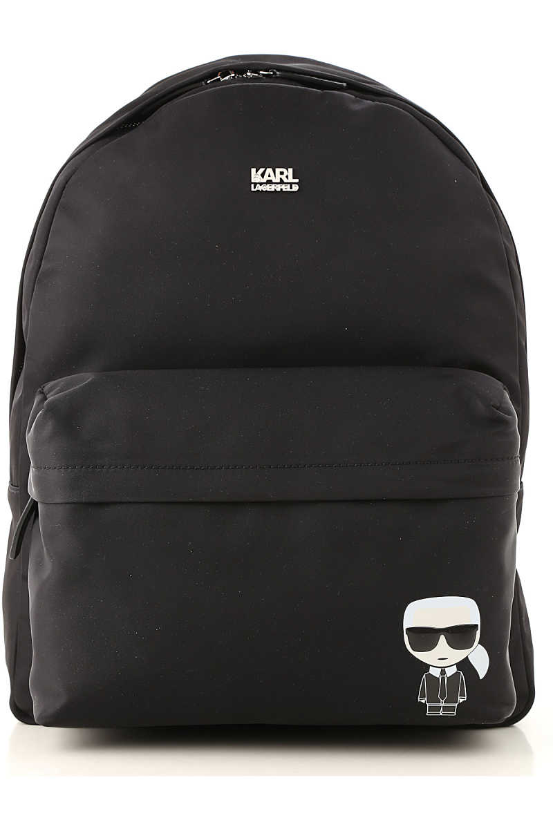 Karl Lagerfeld Backpack for Men Black - GOOFASH