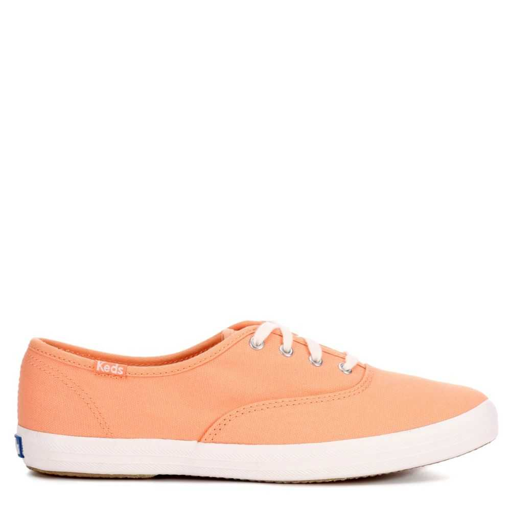 Keds Womens Champion Shoes Sneakers Coral USA - GOOFASH - Womens SNEAKER
