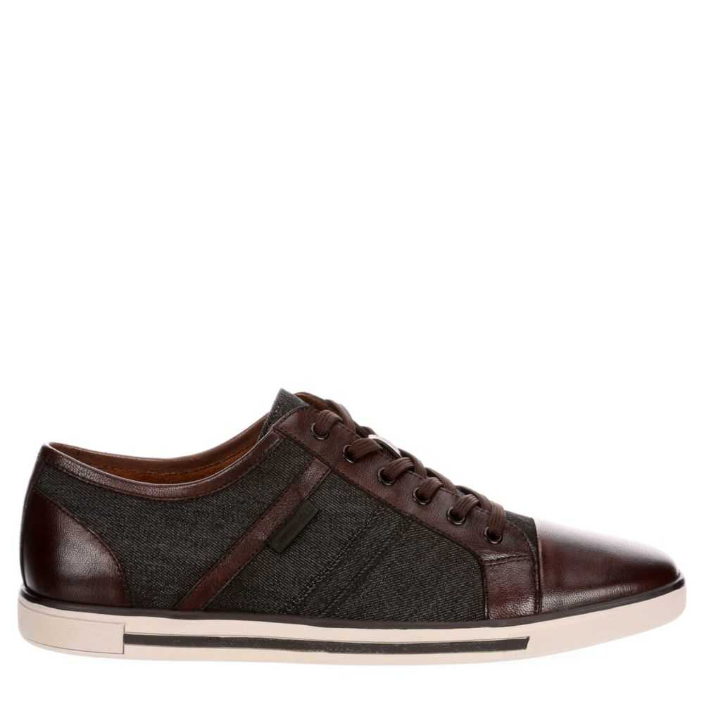 Kenneth Cole Mens Initial-Ly Shoes Sneakers Black USA - GOOFASH - Mens SNEAKER