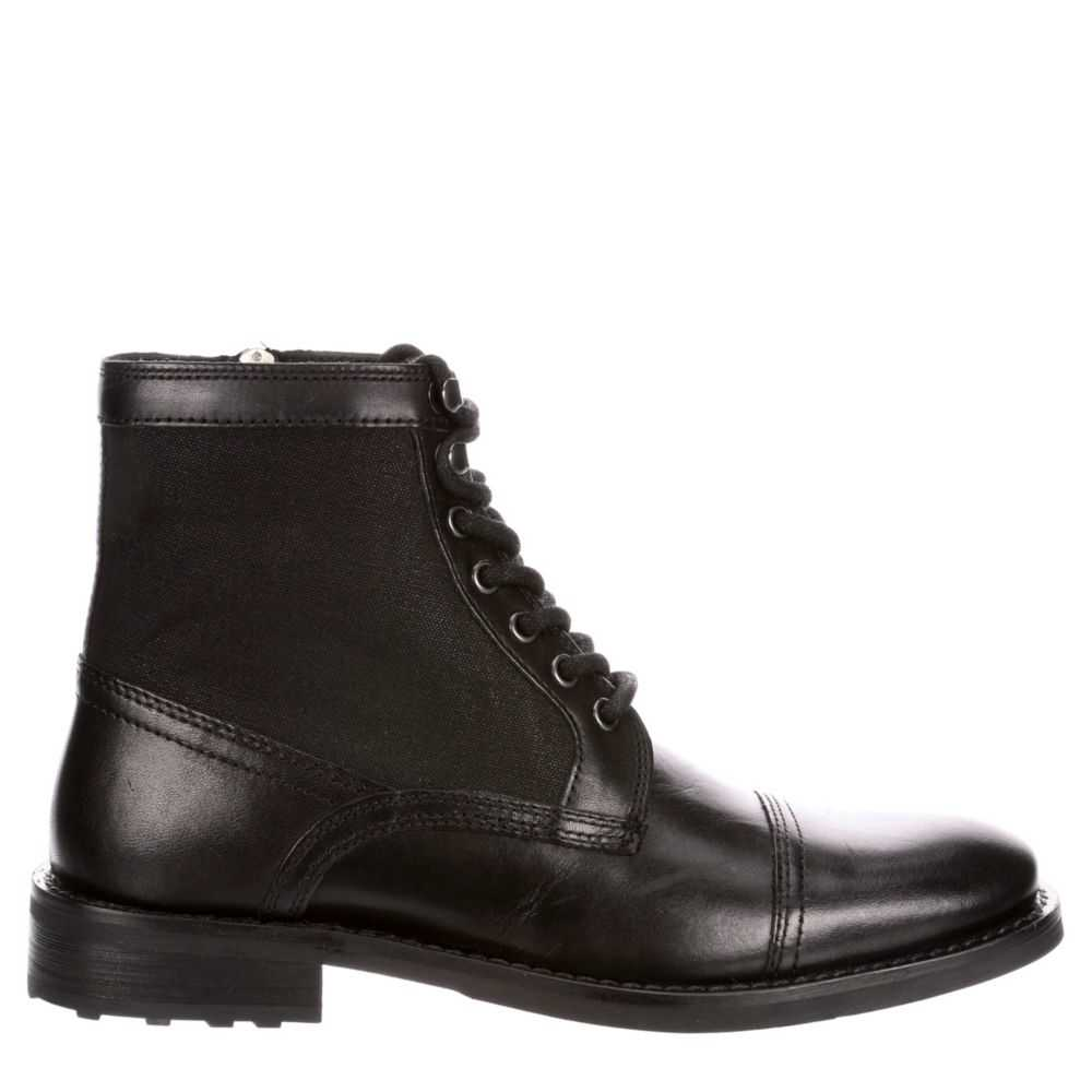 Kenneth Cole Reaction Mens Masyn Casual Boot Black USA - GOOFASH - Mens BOOTS