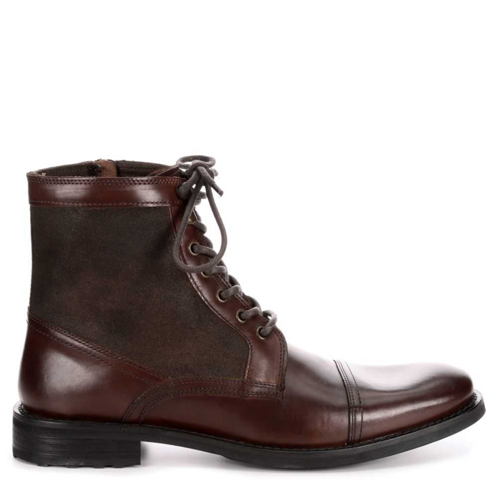 Kenneth Cole Reaction Mens Masyn Casual Boot Brown USA - GOOFASH - Mens BOOTS