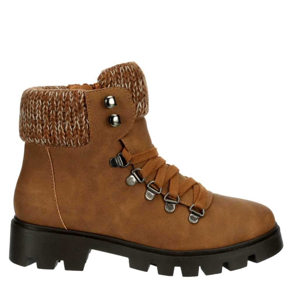 L4L Womens Frio Boots Brown USA - GOOFASH - Womens BOOTS