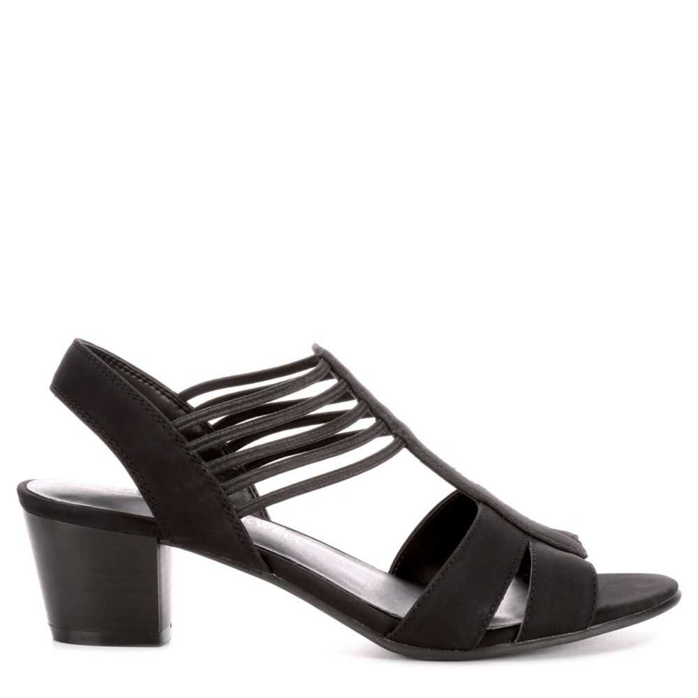 Lauren Blakwell Womens Adena Dress Sandals Black USA - GOOFASH - Womens DRESSES