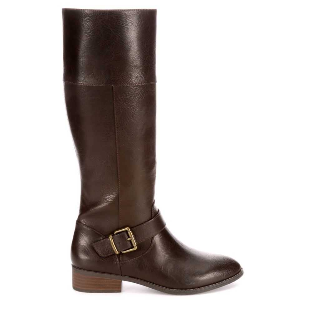 Lauren Blakwell Womens Santiago Riding Boots Brown USA - GOOFASH - Womens BOOTS
