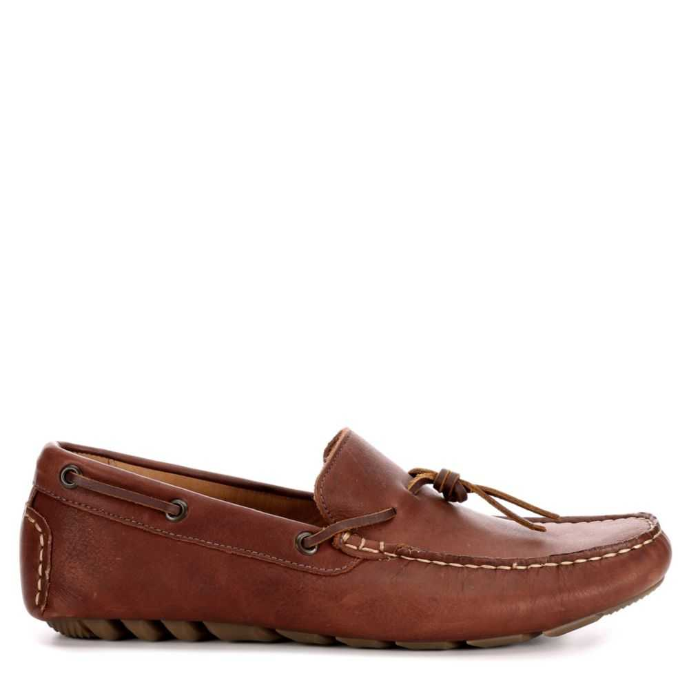 Lucky Brand Mens Wagner Casual Loafer Loafers Brown USA - GOOFASH - Mens LOAFERS