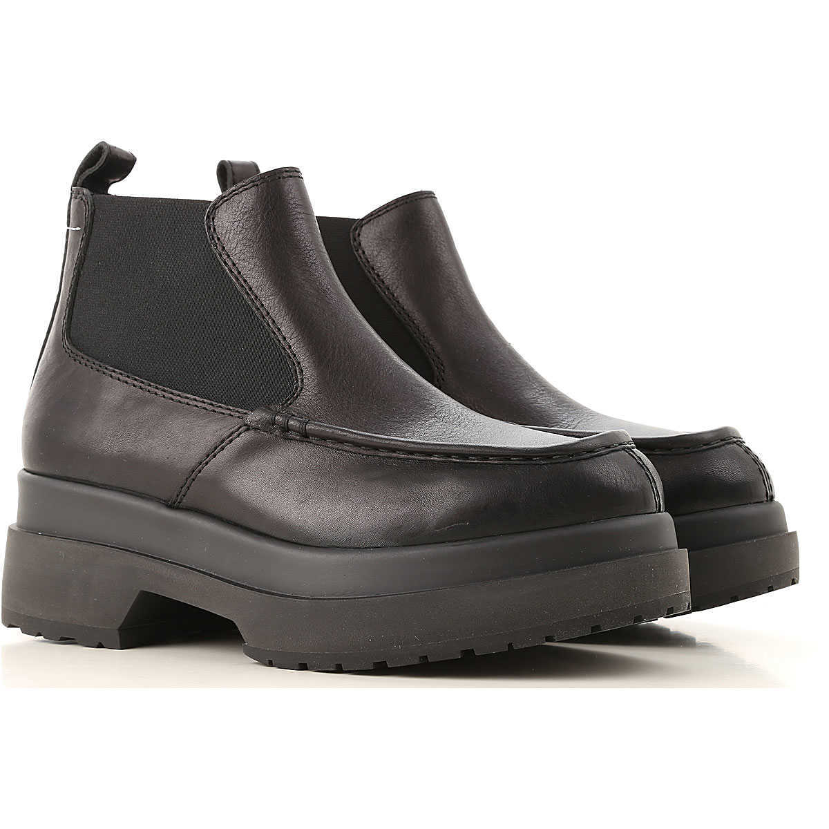 Maison Martin Margiela Chelsea Boots for Women Black - GOOFASH