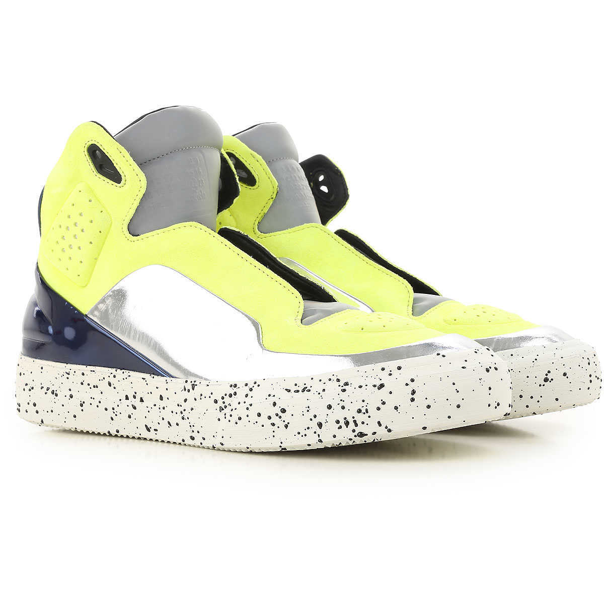 Maison Martin Margiela Sneakers for Men On Sale in Outlet Yellow Fluo - GOOFASH