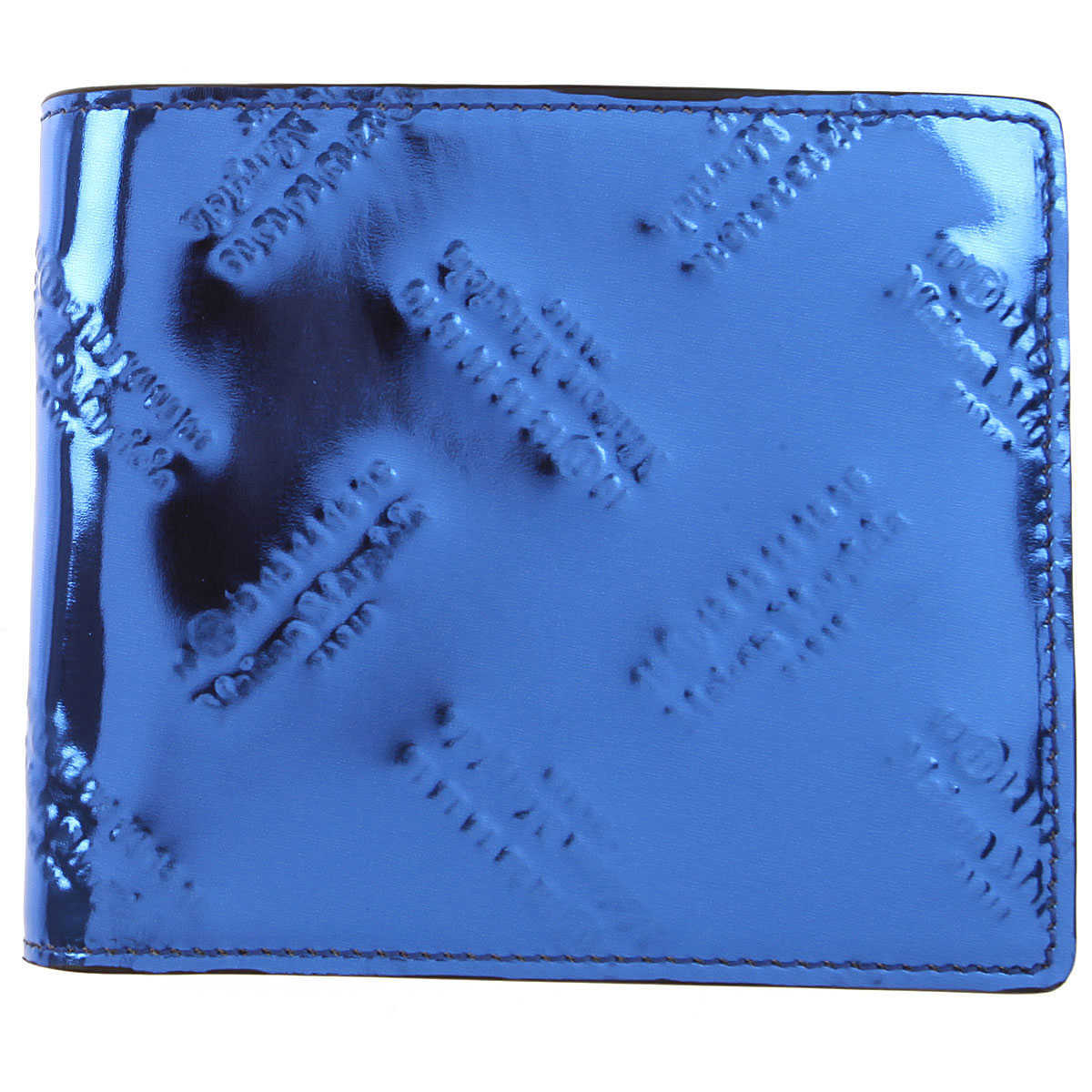 Maison Martin Margiela Wallet for Men On Sale in Outlet Nautical Blue - GOOFASH