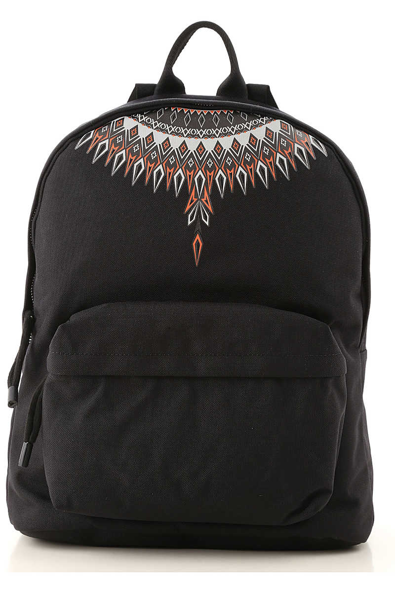 Marcelo Burlon Backpack for Men Black UK - GOOFASH