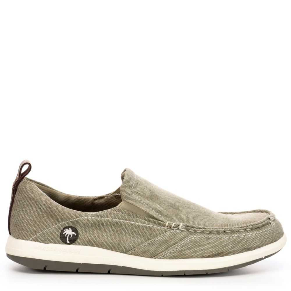 Margaritaville Mens Marina Casual Loafer Loafers Khaki USA - GOOFASH - Mens LOAFERS