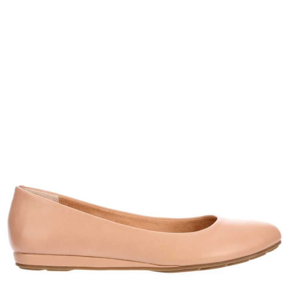 Me Too Womens Ariane Flats Natural USA - GOOFASH - Womens FLAT SHOES