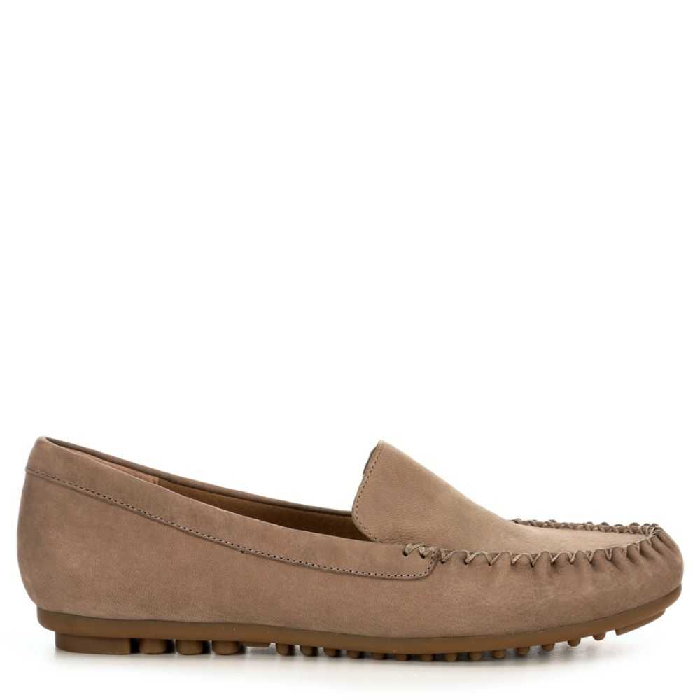 Me Too Womens Casey Loafers Tan USA - GOOFASH - Womens FLAT SHOES
