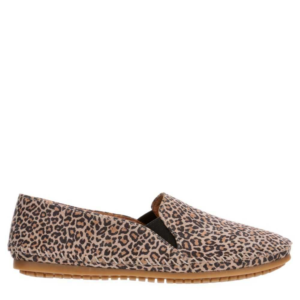 Me Too Womens Lara Flats Shoes Leopard USA - GOOFASH - Womens FLAT SHOES