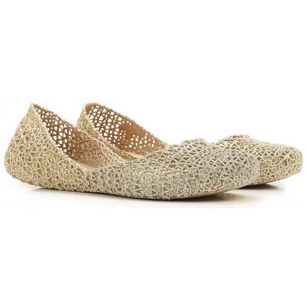 Melissa Ballet Flats Ballerina Shoes for Women On Sale in Outlet Melissa + Campana - GOOFASH