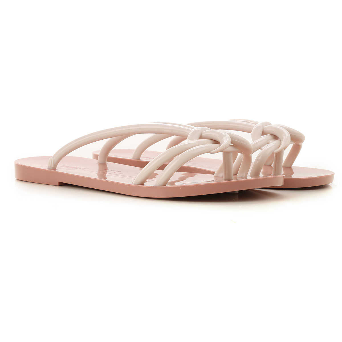 Melissa Sandals for Women On Sale Beige - GOOFASH
